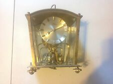 Vintage Kern Brass  400 Day Anniversary Mantle Clock - German