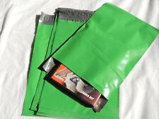 50 Green 7.5x10.5 Flat Poly Mailers Shipping Postal Envelope Bags w/Self Seal