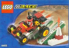 LEGO SET 6602-2  SCORPION BUGGY (TOWN RACERS), Complete with Instruction Book