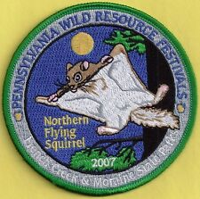Pa Pennsylvania Fish Game Commission 2007 WRCF Northern Flying Squirrel Patch