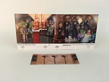 replacement star wars Palitoy Cantina backdrop + Bar fantastic quality