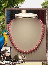 Unique In Morganite (Rosa Beryl) Collana di perline fatti a mano gioielli @ Jay Wolfe