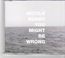 (FM722) Nicole Russo, You Might Be Wrong - 2002 DJ CD