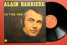 ALAIN BARRIERE T T'EN VAS 1976 UNIQUE LABEL EXYUGO LP