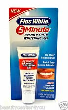 NEW!!! Plus White 5 Minute Premier Speed Whitening Gel 0.5oz (14 g) Travel Size
