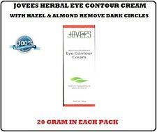 1 PACK JOVEES HERBAL EYE CONTOUR CREAM WITH HAZEL & ALMOND REMOVE DARK CIRCLES