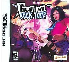 Guitar Rock Tour COMPLETE GREAT Nintendo DS Game