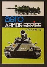 Aero Armor-Series Volume 13 by Uwe Feist Jagdpanzer Kampfpanzer M60 Abrams SB