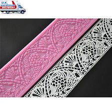 FOUR-C 3D Flower Decorating Mold Silicone Fondant Cake Lace Sugar Craft DIY Mat