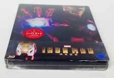 Iron Man 2-Disc Blu-ray KimchiDVD Exclusive QuarterSlip Steelbook No.12 New&Seal