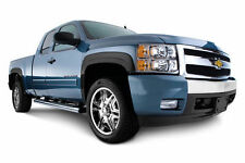 "2007-2013 Chevrolet Silverado Crew Cab 5.8""Short Bed Black Fender Flares SET OF4"