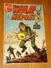 WAR HEROES #26 FN (6.0) CHARLTON COMICS SEPTEMBER 1967