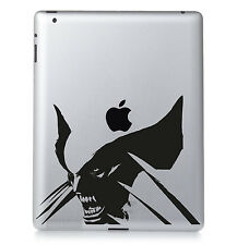 X-Men Wolverine Vinyl Decal MacBook Apple iPad Laptop Adesivo. colore a scelta