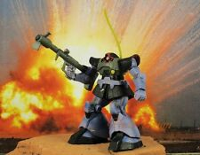 Cake Topper BANDAI MOBILE SUIT GUNDAM Robot MS-09 DOM Toy Model Painted K1010_H