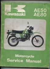 KAWASAKI : AE50  AE80 original service manual 1981