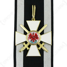 Prussian KNIGHTS ORDER of the RED EAGLE 2nd Class - Military Service Medal Award