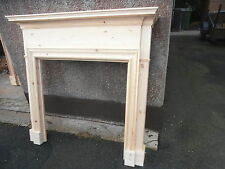 Classic  wooden fire place / surround new  BESPOKE solid pine