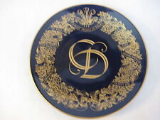 The Royal Wedding 24K Plate 1981 Charles, Prince Of Wales & Lady Diana Spencer