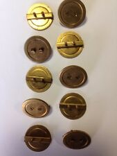 ELECTRICAL BLANKING PLUG BRASS 25mm - Price for Pack of 10 - DB25