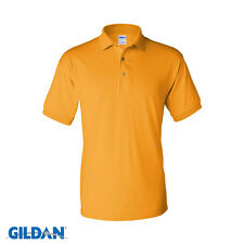 Gildan DryBlend Jersey Mens Polo Sport Shirt 50/50 Plain Polo Shirt S-5XL 8800
