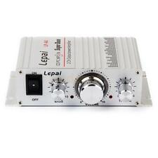 12V Mini Hi-Fi Stereo Audio Amplifier Amp mp3 iPod for Car Motorcycle Boat 2A