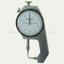 40141201 Pocket Pin Type Thickness Special Measuring Gauge Caliper 0-10mm
