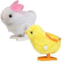 Baby Kids Infant Child toys Hopping Wind Up Easter Chick and Bunny Toy HOT SALE