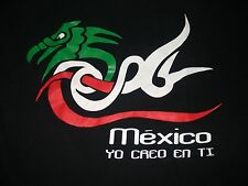 Mexico Yo Creo En Ti Chicago Soccer Football T Shirt Large Ricardo Mendez Poem
