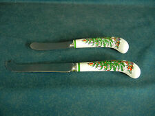 Spode Christmas Tree Knife and Spreader Set