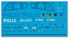 Peddinghaus 2579 1/87 EC 135 P2 Polizeihubschrauber Schweden SE-HPV