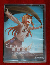Spice and Wolf Season 2 COMPLETE Collection 2 DISC Blu-Ray FUNIMATION ANIME LOT