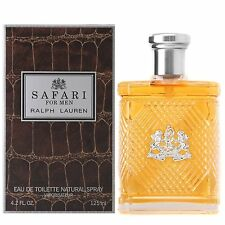 Safari By Ralph Lauren 4.2oz/125ml Men's Eau De Toilette (NIB)
