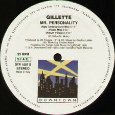 GILLETTE - Mr. Personality - Downtown - Vinyl - DTR 1097 - Euro House