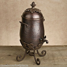 GG COLLECTION Antique Copper Finish Aluminum Metal Coffee Carafe Server *