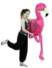 Giant 6 Foot Stuffed Pink Flamingo 72 Inch Soft Lifesize Big Plush Tropical Bird