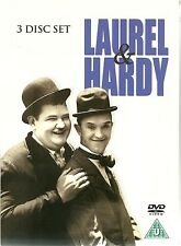 LAUREL & HARDY - 3 DVD BOX SET - UTOPIA, FLYING DEUCES & WOODEN SOLDIERS
