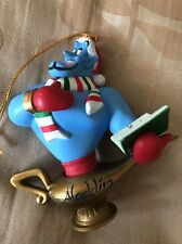 Disney Grolier Genie From Aladdin Christmas Decoration Ornament