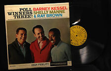 Barney Kessel/Shelly Manne/Ray Brown-Poll Winners Three!-Contemporary 3576