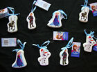 Set of 8 Disney Frozen Decoupage Tree Hangers Christmas Decorations FREE P&P
