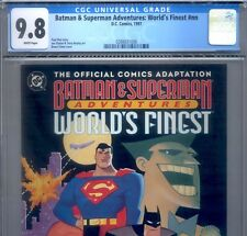 PRIMO:  Batman Superman Adventures World's Finest NM/MT 9.8 CGC HARLEY QUINN DC