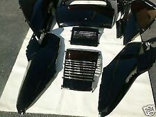COMPLETE SET OF BLACK HONDA HELIX CN250 FUSION CN 250 SCOOTER UPPER PANELS