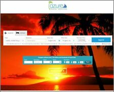 "AMAZING TRAVEL AGENCY FLIGHT AND HOTEL WEBSITE Website Business ""300 Hits A Day"""