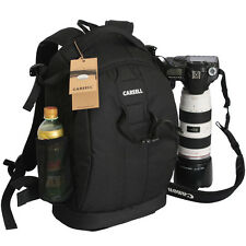 Large Waterproof DSLR SLR Camera Backpack Padded Bag Insert Rucksack Travel Bag