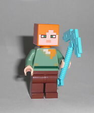 LEGO Minecraft - Alex (21123) - Figur Minifig Ideas Golem Steve Creeper 21123