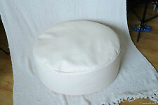 New cream vinyl newborn posing beanbag / photo prop / infant poser pillow