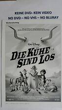 (W64) Werberatschlag - DIE KÜHE SIND LOS