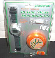 Microsport New Wireless Inline In Line Skate Speedometer Skate Computer in Wheel