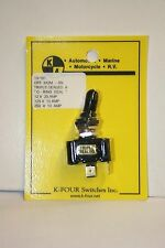 K-FOUR [K-4] OFF-(ON) MOM. TRIPLE SEALED SWITCH--12VDC--20A (13-101)