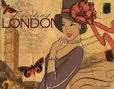 New London by Maria Woods Classic Fine Art Style Print Home Wall Decor 672570