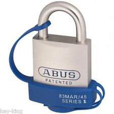 ABUS Mariner Padlock With Cover -83MAR45NWC -45mm-Abus Marine Padlocks-FREE POST